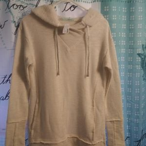 Ladies hoodie sweater.